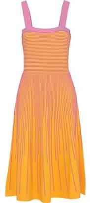 Derek Lam 10 Crosby Ribbed-knit Midi Dress