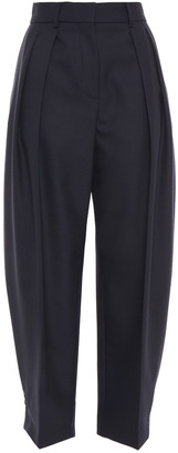 See by Chloe Pleated Twill Tapered Pants