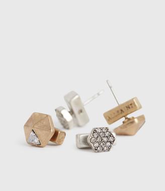 AllSaints Willa Stud Earring Set