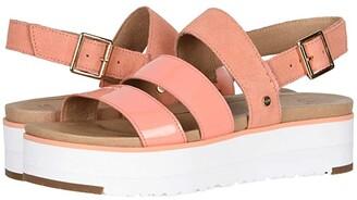UGG Braelynn (Rose Gold) Women's Sandals