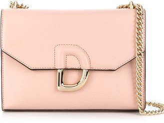 DKNY Logo Fastening Shoulder Bag