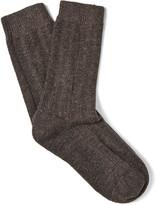 Nn07 - Mélange Wool-blend Socks