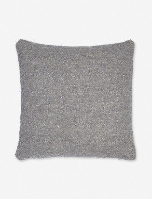 Lulu & Georgia Manon Linen Boucle Pillow, Slate