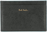 Paul Smith logo stamp cardholder - men - Calf Leather - One Size