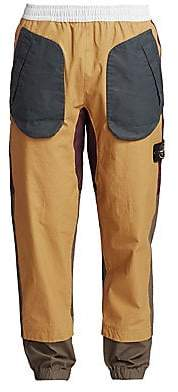 Stone Island Men's Tri-Color Tapered Cargo Pants