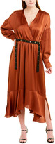 BCBGMAXAZRIA A-Line Maxi Dress