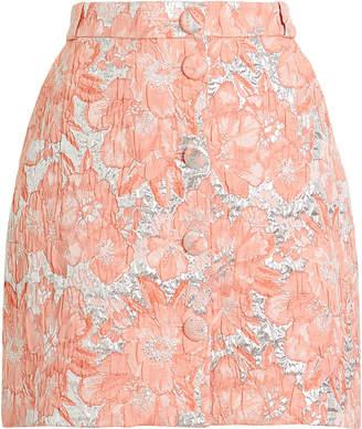 Hofmann Copenhagen Jasmine Brocade Mini Skirt