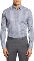Eton Slim Fit Gingham Dress Shirt