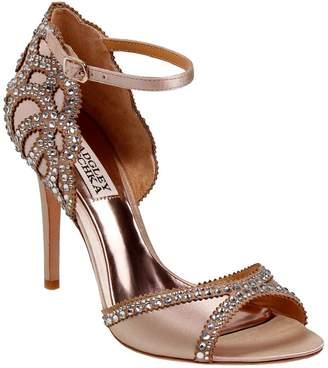 Badgley Mischka Roxy Ankle Strap Rhinestone Sandals