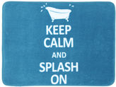 JCPenney Mohawk Home Keep Calm and Splash On Bath Rug