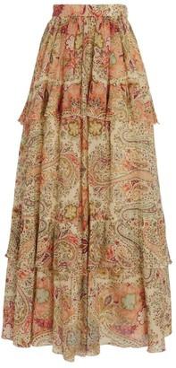 Etro Breton Tiered Skirt