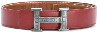 Hermes 2001 pre-owned H Touareg reversible belt