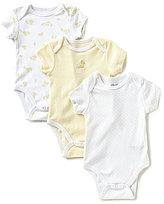 Little Me Newborn-9 Months Cute Ducks 3-Pack Bodysuits
