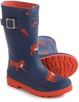 Joules Navy Tiger Rain Boots - Waterproof (For Little and Big Boys)