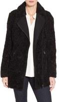 Women's Catherine Catherine Malandrino Asymmetric Faux Fur Car Coat