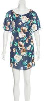 Stone_Cold_Fox Stone Cold Fox Silk Floral Print Dress w/ Tags