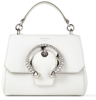 Jimmy Choo Small Leather Madeline Top Handle Bag