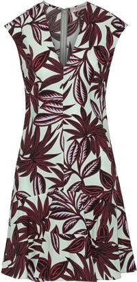 Etro Printed Cotton-poplin Mini Dress