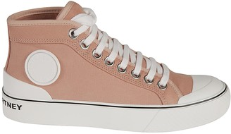 Stella McCartney Back Logo Laced-up Sneakers