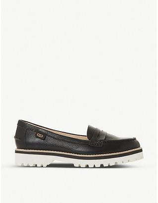 Dune Guinnea low-heel leather loafers