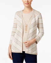 Alfred Dunner 'Tis The Season Layered-Look Necklace Sweater