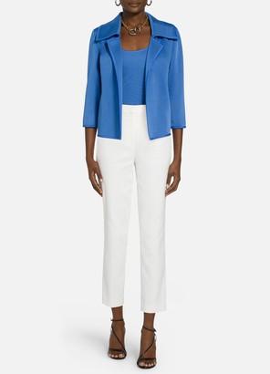 St. John Liquid Milano Knit Jacket