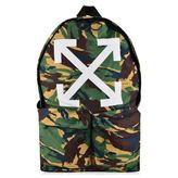 Off White Arrows Camo Back Pack
