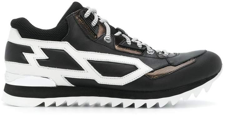 Les Hommes colour block sneakers