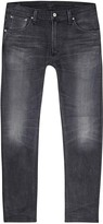 Citizens Of Humanity Bowery Grey Straight-leg Jeans