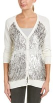 Haute Hippie Sequin Embellished Silk-blend Cardigan.