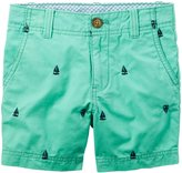 Carter's Shorts (Toddler/Kid) - Teal-4