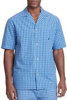 Nautica Plaid Woven Pajama Shirt