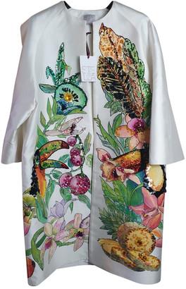 Stella Jean White Silk Jackets