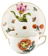 Herend Fruits Necker Teacup & Saucers
