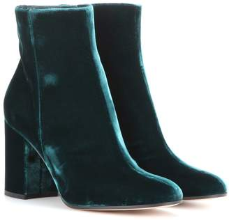 Gianvito Rossi Exclusive to mytheresa.com Rolling 85 velvet ankle boots