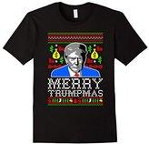 Donald Trump Make Christmas Great Again Merry Trumpmas Dona T-Shirt