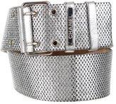 Chanel Metallic Leather Belt