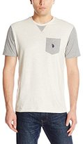 U.S. Polo Assn. Men's Crew Neck Pocket T-Shirt