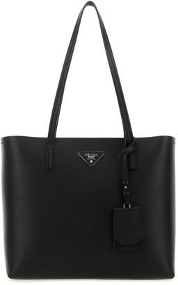Prada Logo Tote Bag