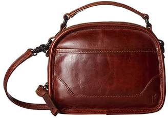 Frye Melissa Top-Handle Crossbody (Cognac) Handbags