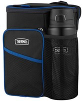 """Thermos 14"""" Lunch Cooler and Beverage Bottle Set - Blue"""
