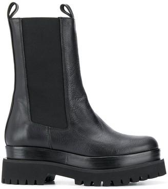 Paloma Barceló Round Toe Platform Boots
