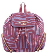 Vivienne Westwood Metallic Canvas Backpack