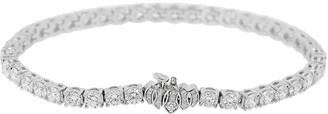 Kwiat 18kt white gold Riviera diamond tennis bracelet