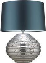 Heathfield & Co Colmea Silver Table Lamp
