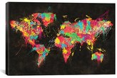 iCanvas 'Continents' Giclee Print Canvas Art