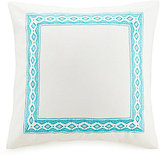 Jessica Simpson Aquarius Tribal-Embroidered Euro Sham