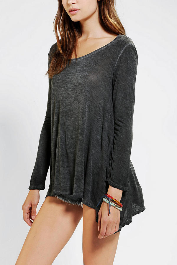 Urban Outfitters Staring At Stars Crochet-Back Top