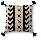 "Loloi Tribal Decorative Pillow, 18"" x 18"""