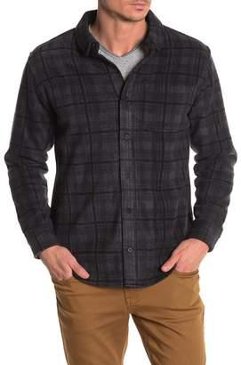 Threads 4 Thought El Paso Plaid Print Slim Fit Shirt Jacket